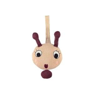 Zvuková hračka dětskou postýlku z bavlny OYOY Lala