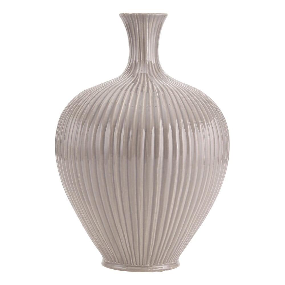 Šedá váza A Simple Mess Elin