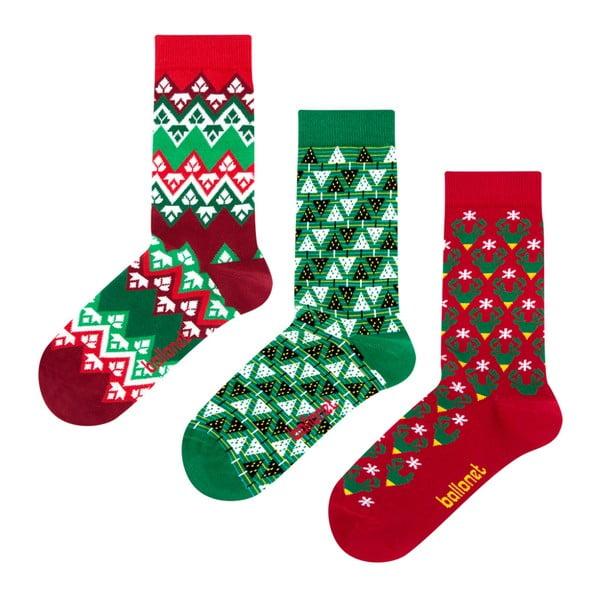 Christmas Time zokni ajándékszett, méret: 36 – 40 - Ballonet Socks