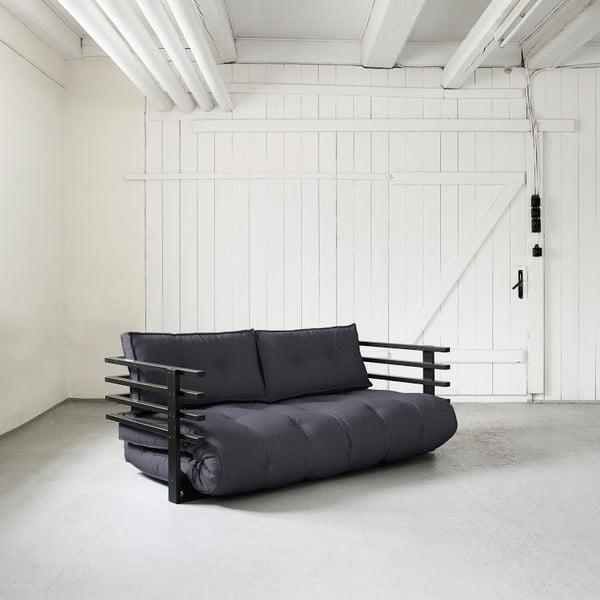 Canapea extensibilă Karup Funk Black/Gray