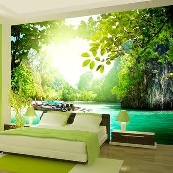 Tapet format mare Bimago -Heavenly Landing, 400 x 280 cm de la Bimago