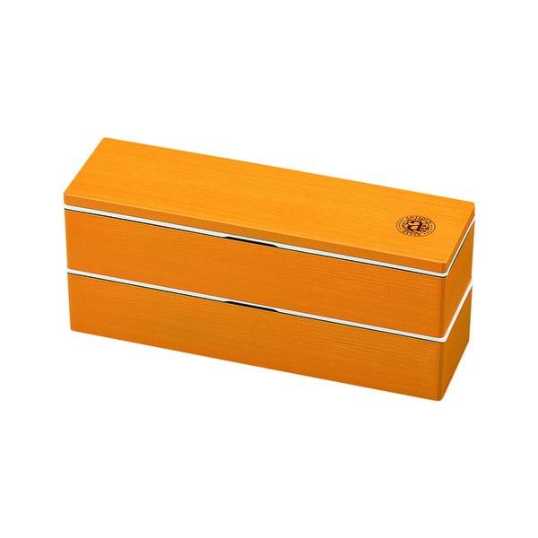 Oranžový svačinový box Joli Bento Antique,840ml