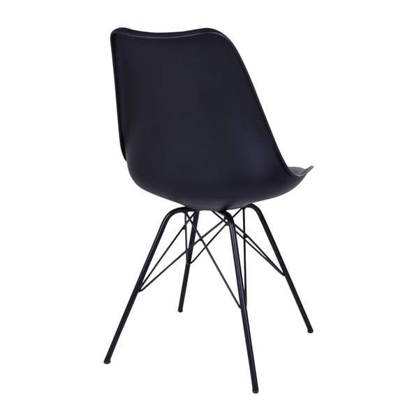 Sada 2 černých židlí House Nordic Oslo