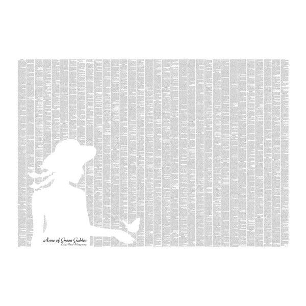 Knižní plakát Anna ze Zeleného domu, 100x70 cm