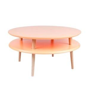 Măsuță  de cafea  Ragaba UFO Ø 70 cm, portocaliu