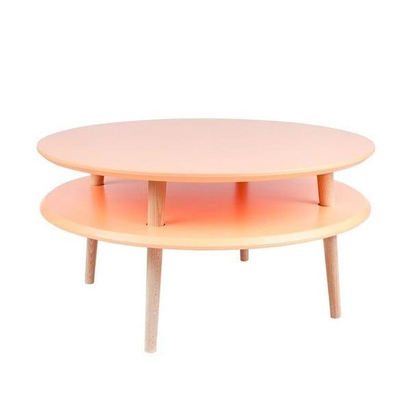 Oranžový konferenční stolek Ragaba UFO,⌀70cm