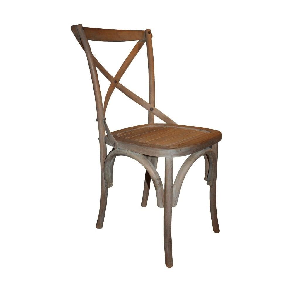 Hnědá jídelní židle HSM Collection Provence