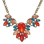 Dámský náhrdelník bronzové barvy Runaway Tropical