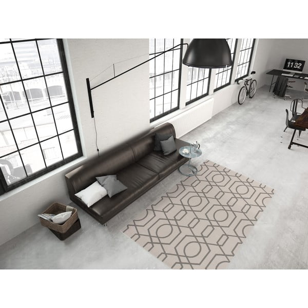 Taupe koberec Kayoom Stella 400 Brown, 80x150cm