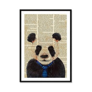 Obraz Really Nice Things Newspaper Panda, 40 x 60 cm
