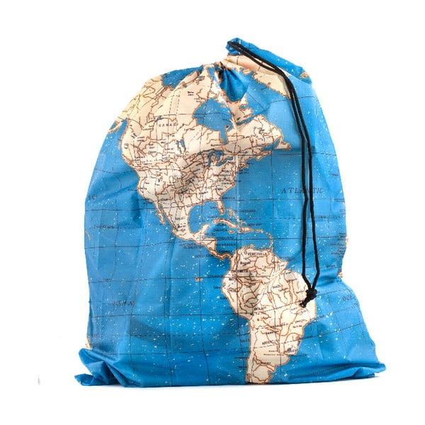 Sada 4 cestovních tašek Kikkerland Maps