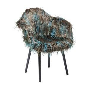 Scaun Kare Design Yeti, maro-albastru
