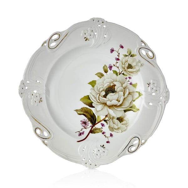 Sada 6 porcelánových tanierov Franz Richard, Ø 27 cm