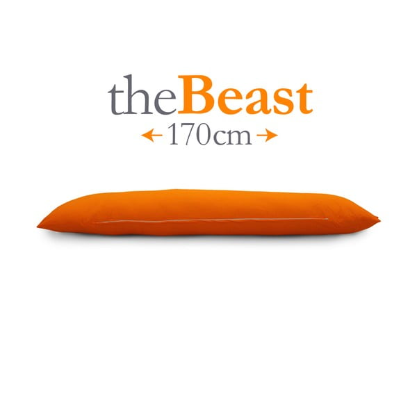 Polštář The Beast, oranžový, vhodný pro kohokoli