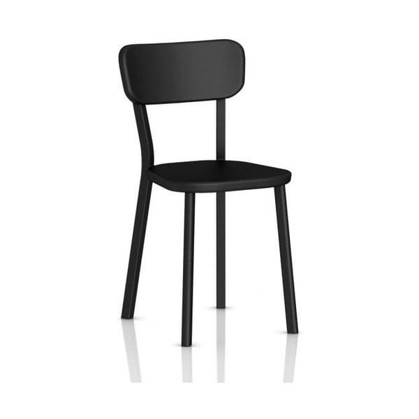 Černá jídelní židle Magis Deja-vu