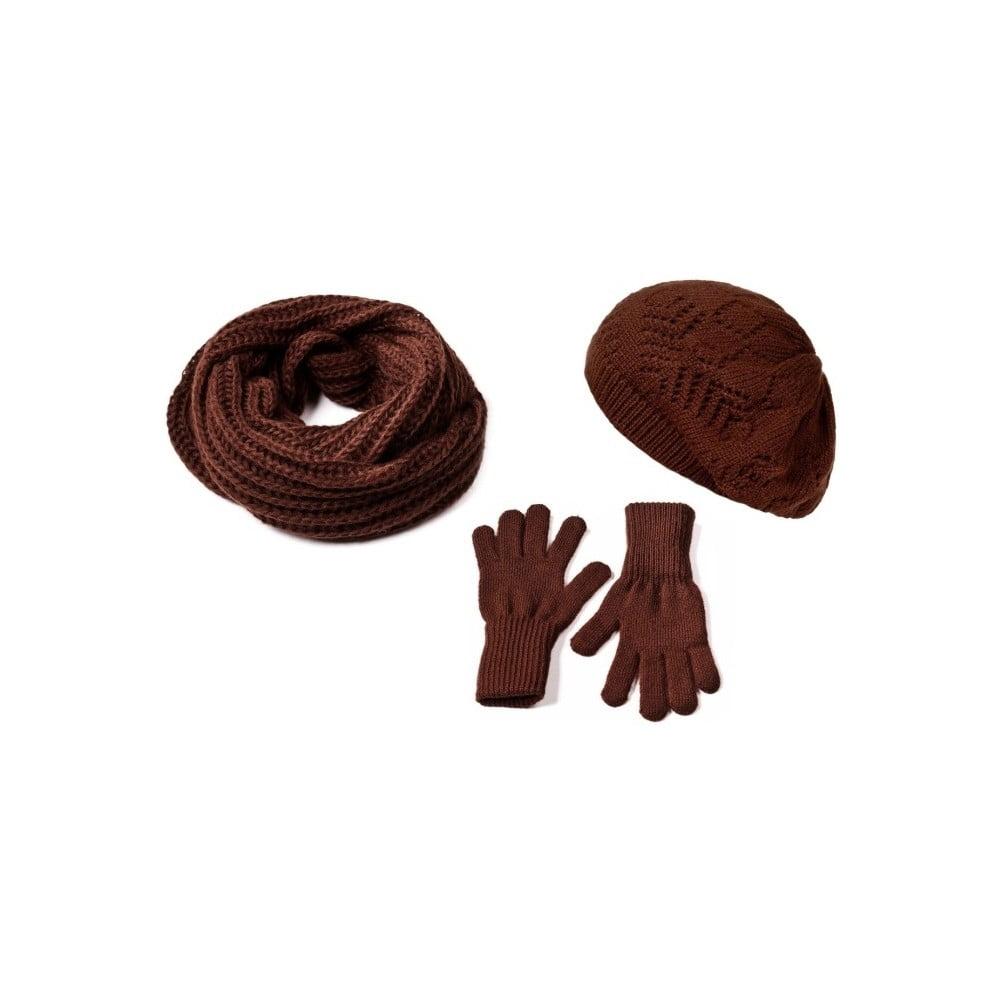 Sada čepice, šály a rukavic Lavaii Charlotta