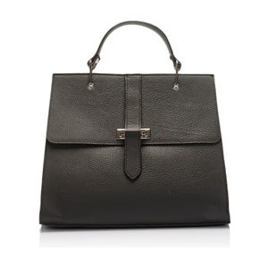 Kožená kabelka Lisa Minardi 5215 Black