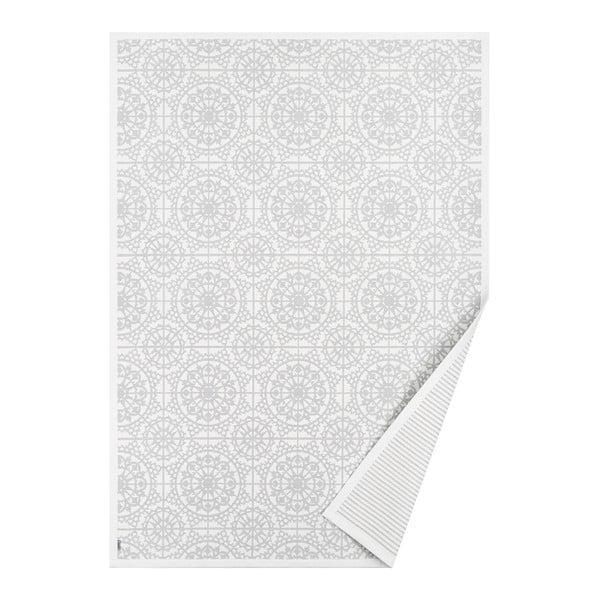 Raadi fehér mintás kétoldalas szőnyeg, 160 x 100 cm - Narma