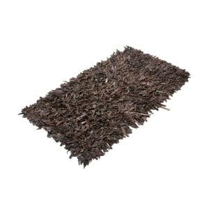Kožený koberec Shaggy 140x200 cm