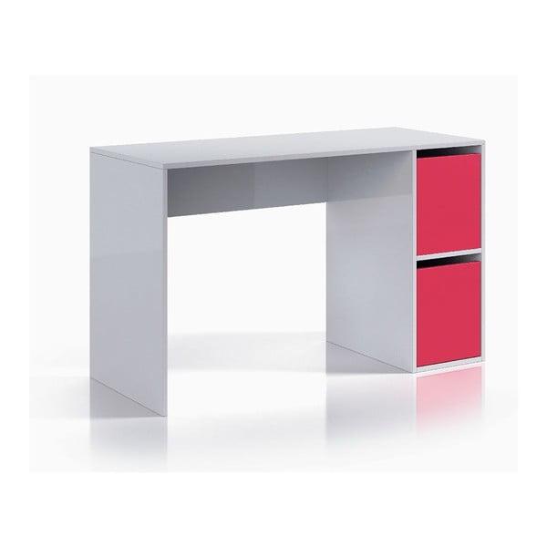 Růžovobílý pracovní stůl 13CasaHesse