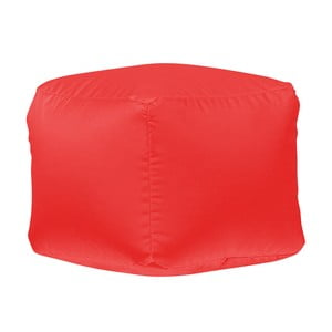 Červený puf Sit and Chill Mactan
