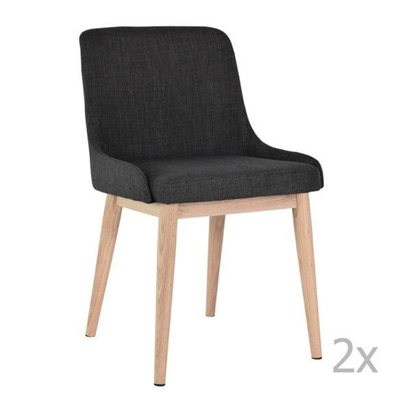 Komplet 2 krzeseł RGE Edgar