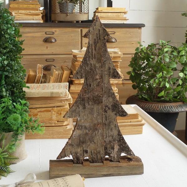 Dřevěná dekorace Orchidea Milano Xmas St. Moritz, 40 cm
