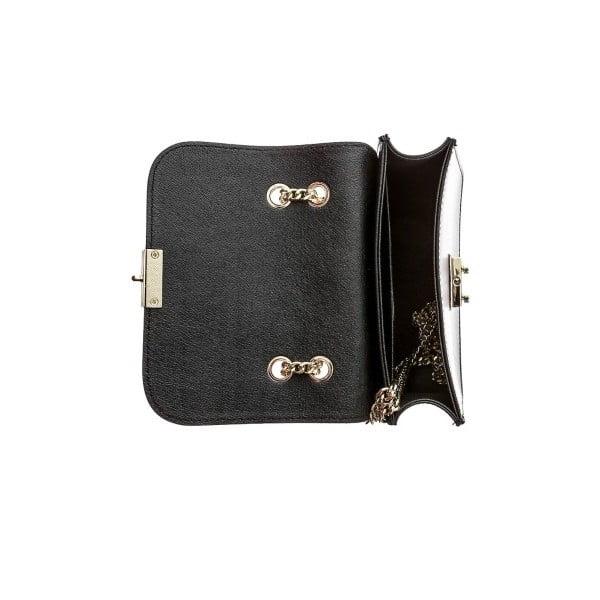 Černá kožená kabelka Sofia Cardoni Ranna
