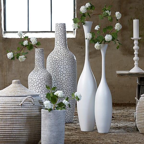 Bílá váza Canett Grenoble