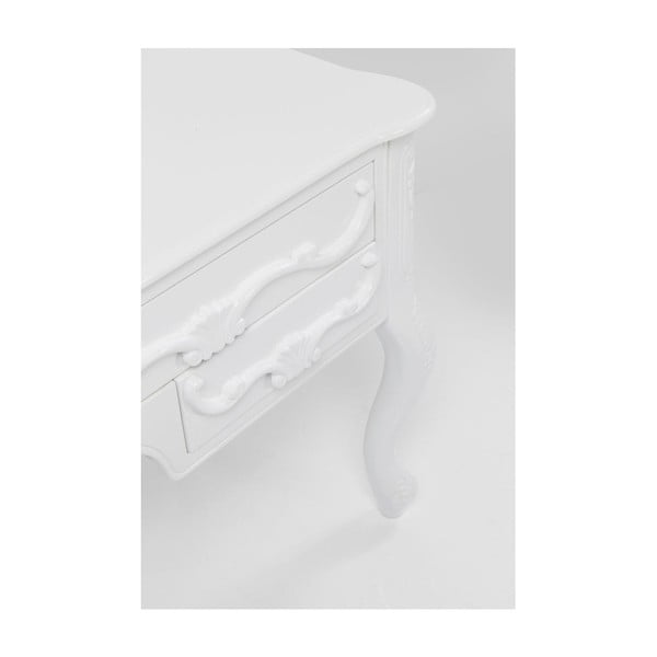 Bílý pracovní stůl Kare Design Junas