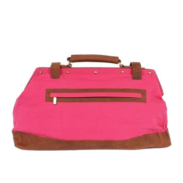 Taška Jaipur Weekender, růžová