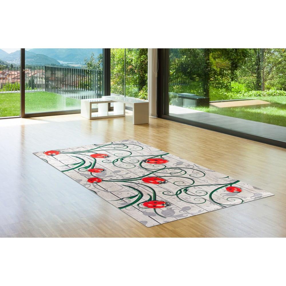 Odolný koberec Vitaus Fleur, 80 x 150 cm