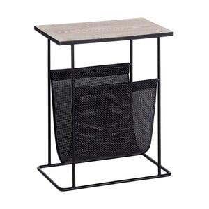 Odkládací stolek se stojanem na časopisy Ixia