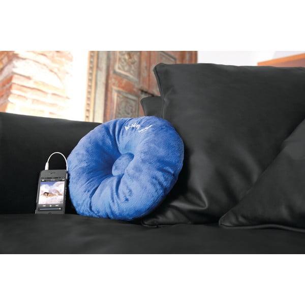 Hi-Sleep Polštářek s vestavěným reproduktorem,modrá