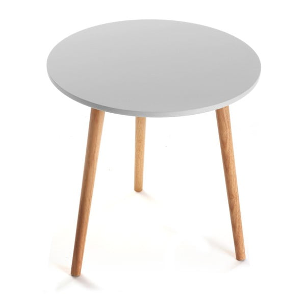 Šedý odkládací stolek Versa Grey Auxiliary Virginia