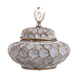 Recipient din ceramică InArt Diamond, înălțime 27 cm