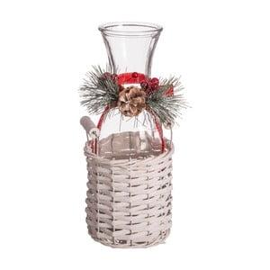Karafa v úložném košíku Unimasa Christmas