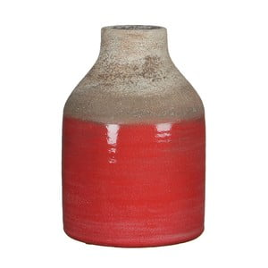 Červená váza Mica Belinda, 25x17cm