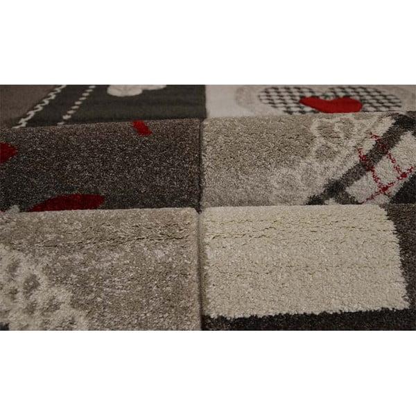 Koberec Webtappeti Intarsio Brown Cosy, 140x200 cm