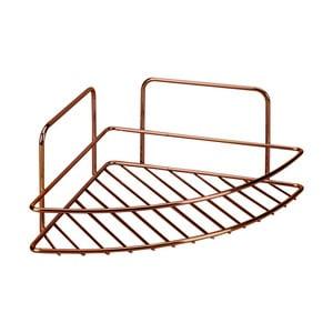 Koupelnová rohová polička Metaltex Copper