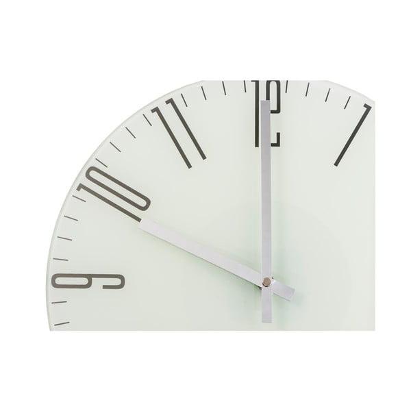 Hodiny Fisura Slim White, 35 cm