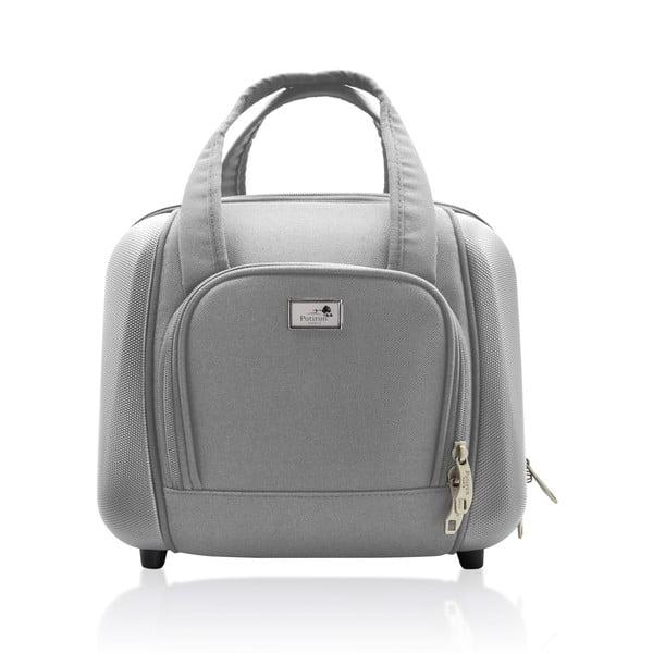 Sada tašky na kolečkách a příruční tašky Vanity Grey, 46 + 12 l