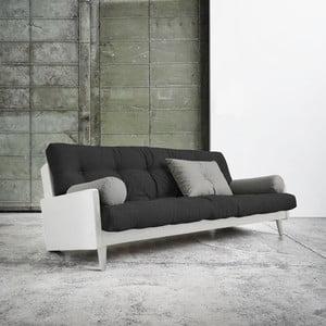 Canapea extensibilă Karup Indie White/Dark Grey/Granite Grey
