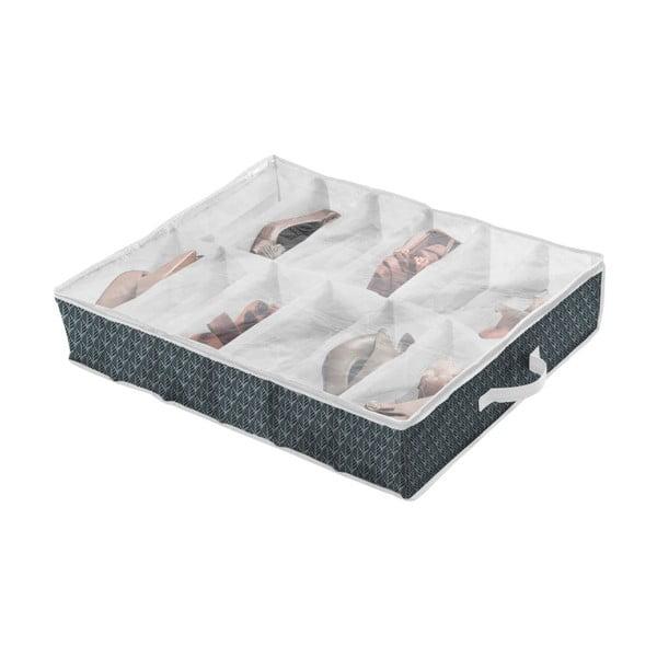 Tmavě zelený úložný box na boty Compactor Vetements