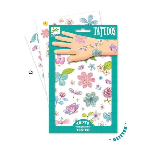 Detské tetovanie Djeco Kvety