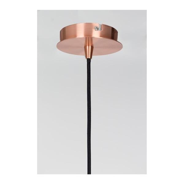 Stropní svítidlo v měděné barvě Zuiver Retro, Ø40cm