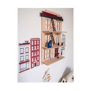 Dřevěná nástěnná dekorace Dekornik New York New York