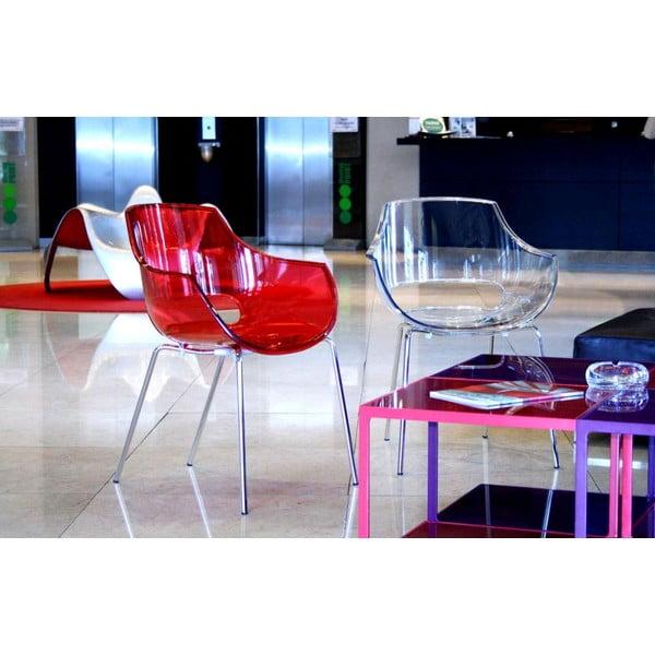 Židle Opal, clear
