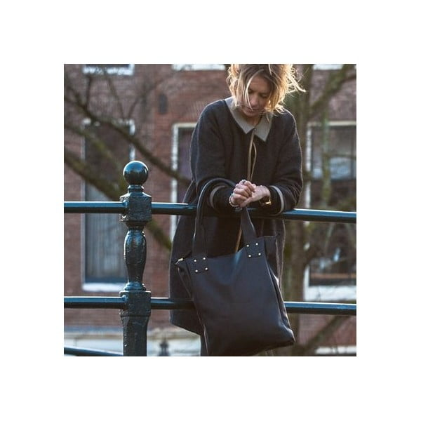 Kožená taška Marilla Cupboard Black