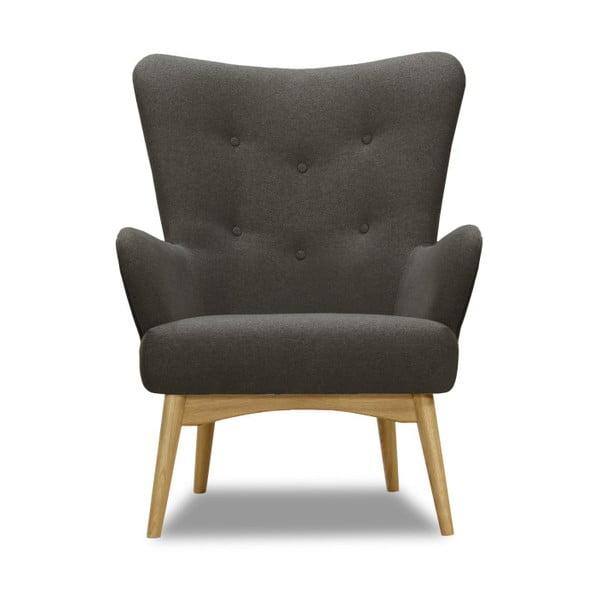 Uma antracitszürke fotel - Vivonita